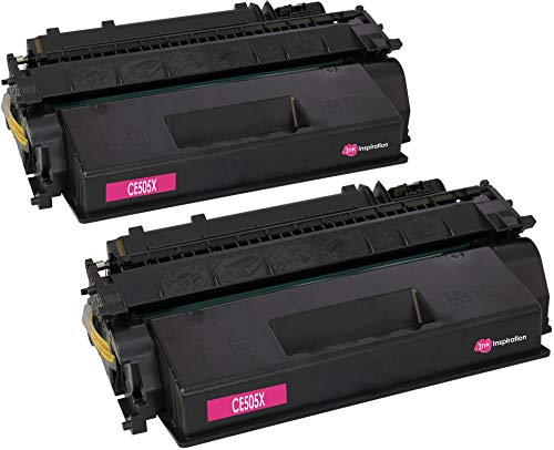 2 INK INSPIRATION® Premium Toner kompatibel für HP CE505X 05X Laserjet P2055 P2055d P2055dn P2055x P2050 P2053 P2054 P2056 P2057 | 6.500 Seiten