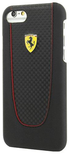 Ferrari Coque rigide pour Apple iPhone 7Plus Noir/gris charbon