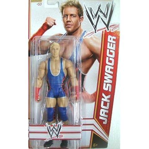 WWE Jack Swagger Figure Series 21 by Mattel