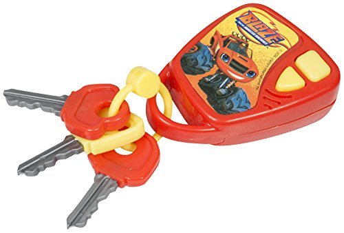 new style 10c42 9a523 Nickelodeon Official Blaze And The Monster Machines Kids Pretend Play Car  Keys Gift Toy