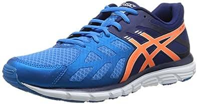 Asics Gel-Zaraca 3, Chaussures de trail homme - Bleu (3932-Aqua Blue/Orange/Navy), 40.5 EU (6.5 UK)