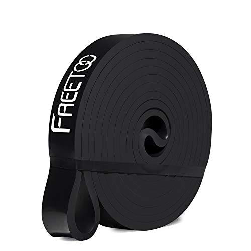 FREETOO Resistance Band Fitnessbänder professionelle Latex Widerstand Bänder Pull-Up Bänder Klimmzughilfe (E)