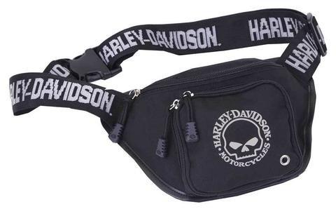 Preisvergleich Produktbild Harley-Davidson Gürteltasche Skull