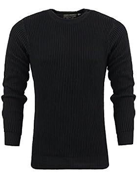 Para hombre cuello redondo 'Cosmic' Jersey por Brave Soul 100% algodón Casual S-XL