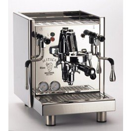 Bezzera Espressomaschine Mitica TOP - mit Rotapumpe - Festwasseranschluss und Tankversion