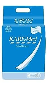 Kare Med Adult Diapers - Pack of 10 (76cm - 114cm)
