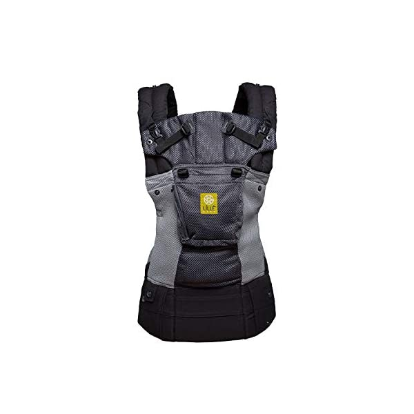 LÍLLÉbaby  Complete Airflow 6-in-1 Baby Carrier, Grey/Silver Lillebaby Made from breathable mesh fabric to help keep parent and child cool and comfortable and with 6 carrying positions - Foetal, infant inward, outward, toddler inward, hip, back - The only carrier you'll ever need! Suitable from 3.2- 20kg (birth to approx. 4 years old), providing extended comfortable use for parent and child with no additional infant support required for new-borns - the ergonomic adjustable seat is acknowledged as 'hip-healthy' by the International Hip Dysplasia Institute Unique spacious head support with elasticated straps - soothes infants with gentle lulling motion and provides excellent support as children grow 1