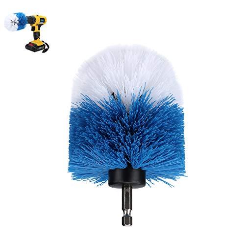 1 Stück Drill Brush Nylon Power Scrubber Reinigungsbürste Medium Steifigkeit Borsten Attachment Scrubber Reinigungsset für die Reinigung von Boden Keramikfliesen Fugen Auto