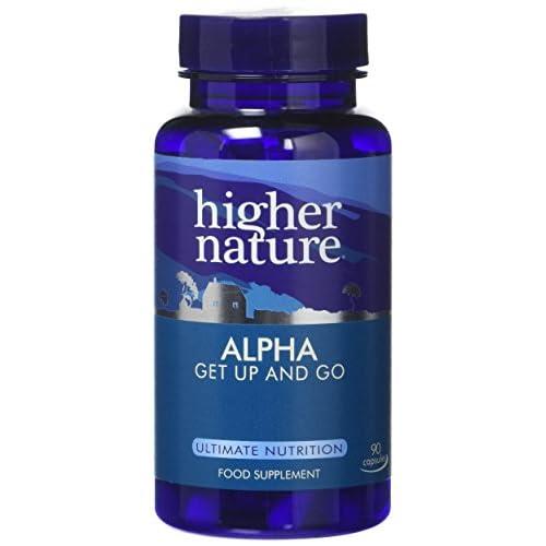 41Ol0J0FFFL. SS500  - Higher Nature Alpha - Alpha Lipoic Acid and Acetyl-l-Carnitine - 90 Capsules