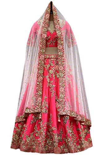 Sari Lehenga (KAMLA FASHION LenghaCholi indische Partei tragen Lehenga Lengha Choli pakistanische Hochzeit Sari)