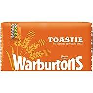 Warburtons Toastie White Bread, 800 g