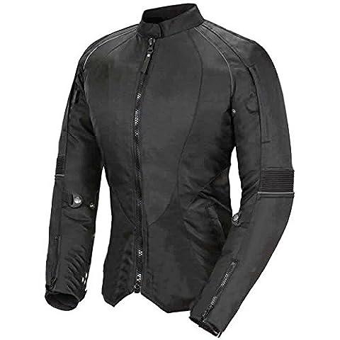 Newfacelook Pour Femme Moto Veste Codura Dames Imperméable Bike Protection XL