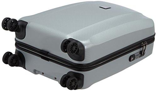 Titan Xenon Deluxe 4-Rollen-Kabinentrolley S 55 cm Silver
