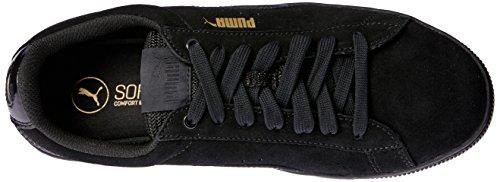 Puma Vikky Platform, Scarpe da Ginnastica Basse Donna Black Black