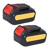 LYPULIGHT 20V 5,0Ah Ersatz Akku für DeWalt 18V DCB184 DCB200 DCB182 DCB180 DCB181 DCB182 DCB201 DeWalt XR Werkzeugakku