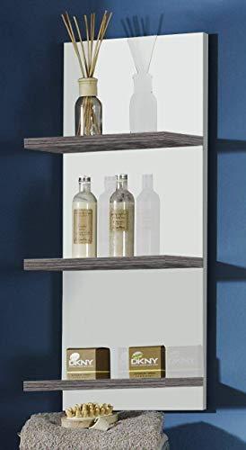 Schildmeyer Cadiz 120432 Regal, 30 x 70 x 17,5 cm, esche grau