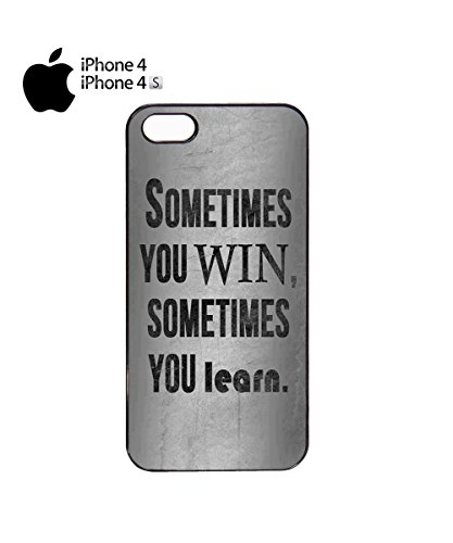 Sometimes You Win Sometimes You Learn Summer Holiday Mobile Phone Case Cover iPhone 6 Plus + White Noir