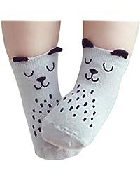 Chyatii Calcetines de Niños Calcetines Termicos Niños Calcetines de Algodón Calcetines Antideslizantes para Niñas Niños Bebé