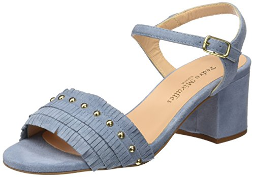 PEDRO MIRALLES Damen 19074 Sandalen mit Knöchelriemen Blau (Lavanda)