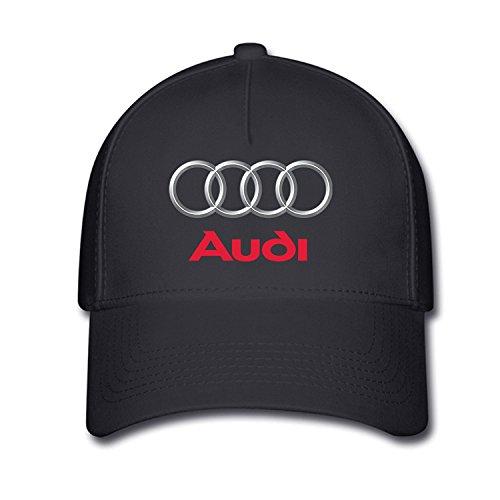 hittings-unisex-audi-logo-baseball-caps-hat-one-size-black