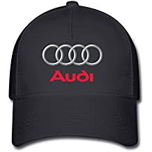 Hittings Unisex Audi Logo Baseball Caps Hat One Size Black