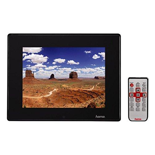 Hama Digitaler Slimline Premium Acryl Bilderrahmen (30,7 cm (12,1 Zoll), SD/SDHC/MMC-Kartenslot, USB 2.0, Mit Fernbedienung) schwarz 4 Gb Usb-uhr