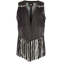 9df02a813646b1 Suchergebnis auf Amazon.de für: Lederweste Damen Braun