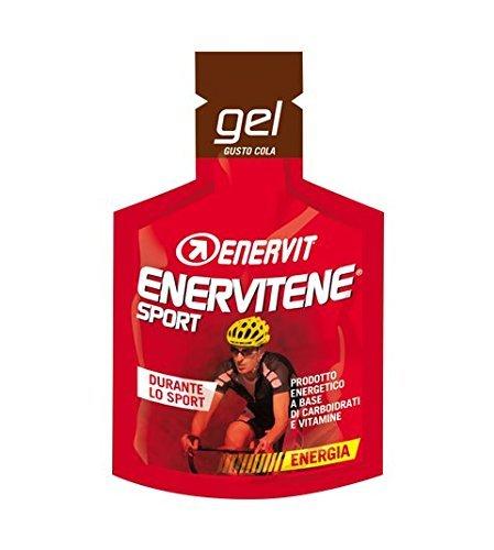 Enervit Enervitene Sport Gel Flavour Cola Packung mit 24 Gels von 25ml