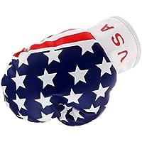 Baoblaze Tapa Funda para Golf Driver 460 CC/No.1 Bandera de EEUU Cubierta de Palo de Madera Accesorio de Golf Entrenamiento 460 CC/No.1