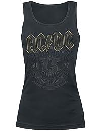 AC/DC Let there be Rock Top Femme noir M