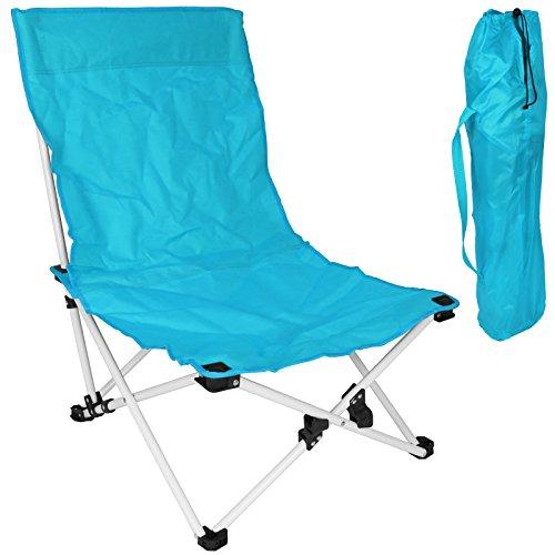 Klappstuhl - Gartenstuhl - Strandstuhl Probeach mit Farbauswahl(blau)