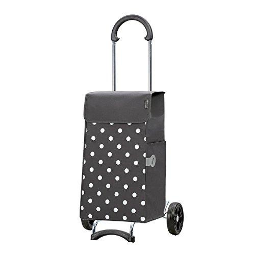 Lis-tasche (Original Andersen Scala Shopper mit Tasche Lis grau Punkte)