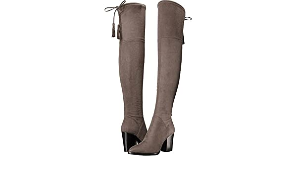 590a23b88c8 Marc Fisher LTD Women s Alinda Dark Grey Suede Boot  Amazon.co.uk  Shoes    Bags