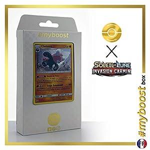 Chelours (Bewear) 56/111 Holo - #myboost X Soleil & Lune 4 Invasion Carmin - Box de 10 Cartas Pokémon Francés