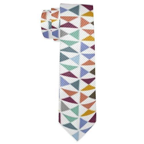 Sula-Lit Men's Necktie Pinwheels Classic Neck Ties for Men Gift -