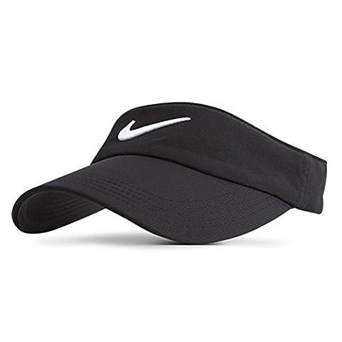 Nike Tech Swoosh Visor Golf tour (Black)