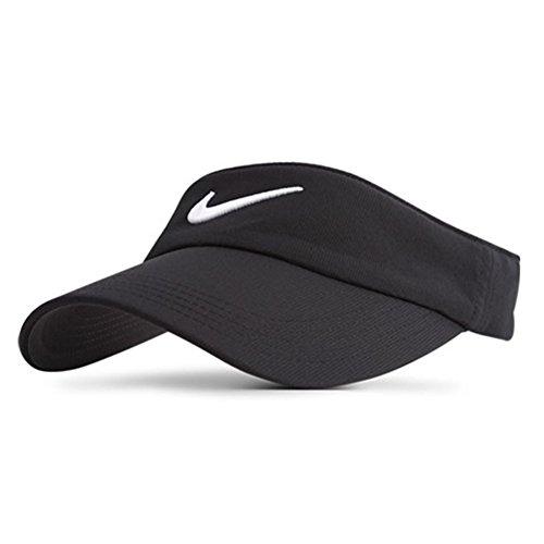 Nike Tech Visière golf avec logo virgule 'Swoosh', noir