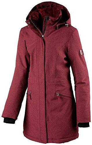 McKinley Damen Wander Freizeit Funktions - Mantel EMMA meliert schwarz, Größe:50