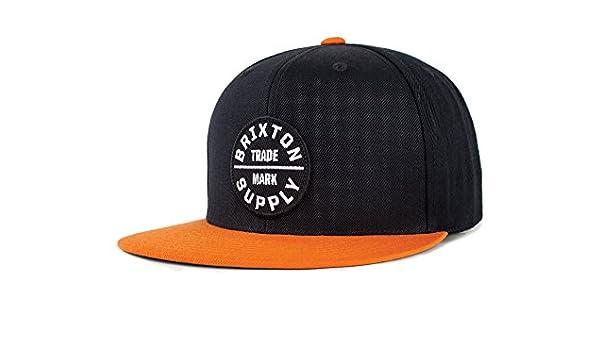 90beb4263fe Brixton Men s Oath Iii Snapback Baseball Cap