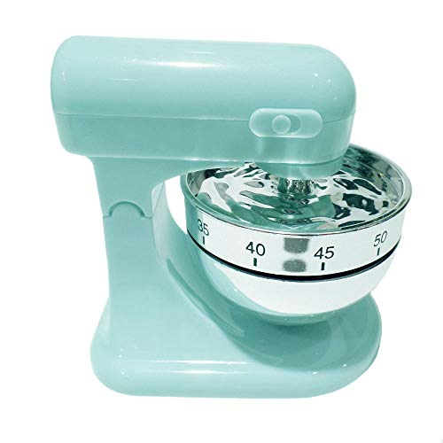 Eieruhr Kurzzeitwecker Küchentimer Küchenmaschine Mixer Design, Kunststoff, mintgrün, 1 Stück