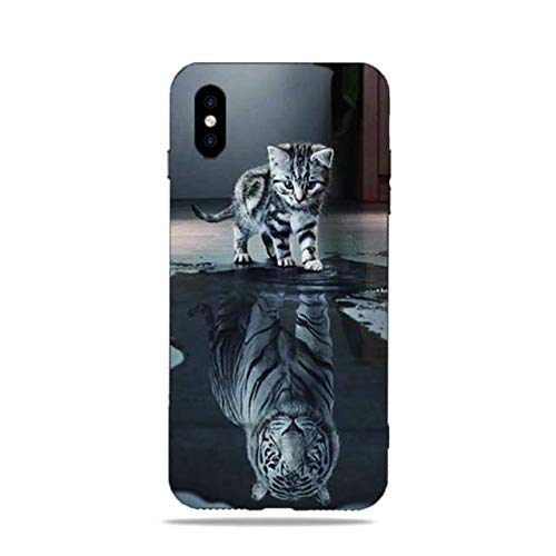 Easbuy Handy Hülle Soft TPU Silikon Case Etui Tasche für DOOGEE X53 Smartphone Bumper Back Cover Handytasche Handyhülle Schutzhülle
