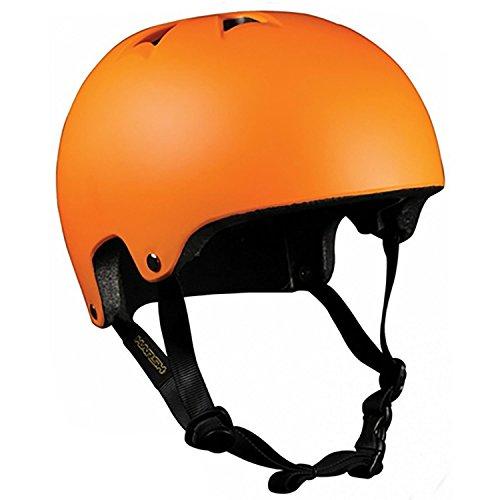 HARSH BY MADD MGP SCOOTER SKATER HELM Skaterhelm BMX Helm (X-Small, ORANGE)