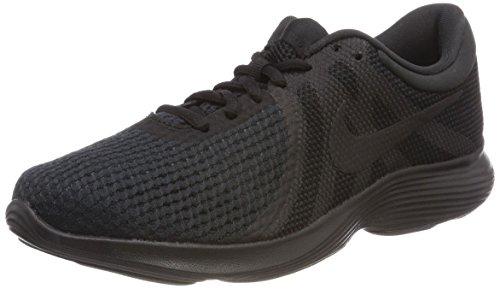 Nike Wmns Revolution 4 EU, Zapatillas de Trail Running para Mujer, Negro (Black/Black 002), 39 EU