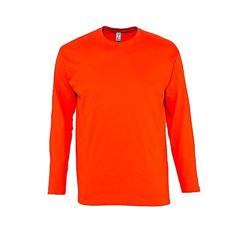 Maglietta a maniche lunghe Monarch Orange
