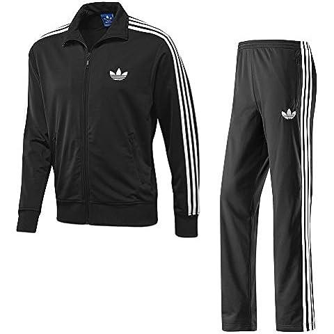 Adidas Firebird Completo Chándal Para Hombre - Negro, Extra Grande