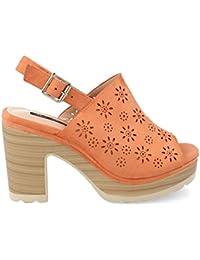 ZapatosY Para Mujer Zapatos Amazon esFlores Naranjas l1JcTF3K