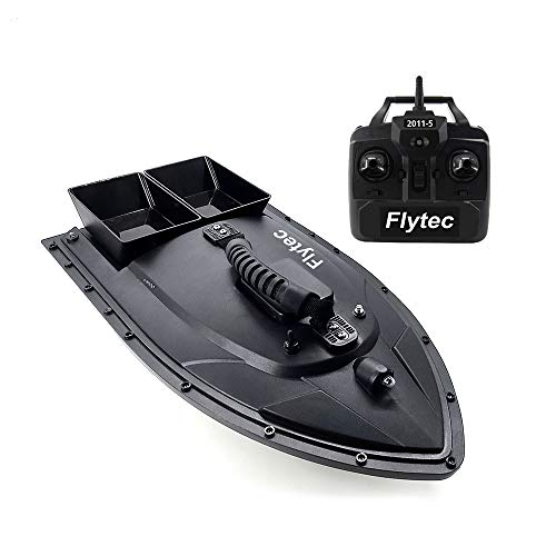 Goolsky Flytec 2011-5 Fish Finder 1.5kg Loading Remote Control Fishing Bait Boat RC Boat KIT Version DIY Boat Black