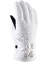 Viking Gloves Winter Ski Gloves Women - With Ornaments - Breathable And Waterproof - With AQUA THERMO TEX And THINSULATE - Barocca