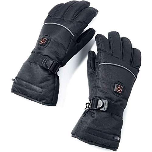 hook.s Elektrisch beheizte Handschuhe Mit Temperaturregulierung Batterien Handschuhe Zum Skifahren Wandern Klettern Fahren bei kaltem Wetter Elektrische Heizhandschuhe