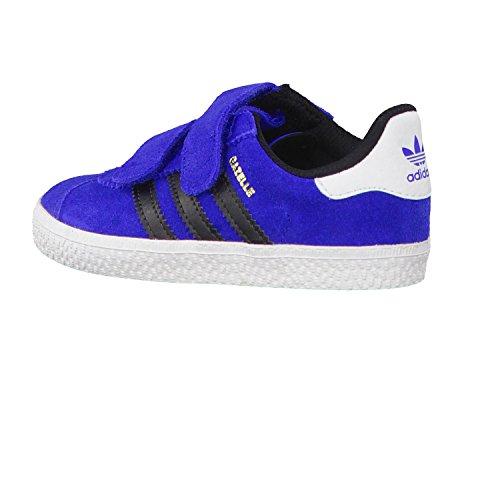 Adidas Gazelle 2CF I–Chaussures Unisexe Azul / Negro / Blanco